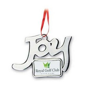 Joy Photo Art Custom Christmas Ornament