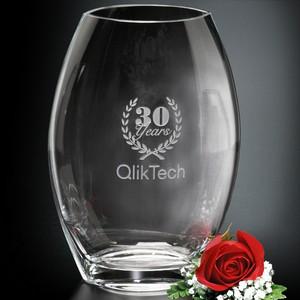 Oval Vase 12 in.
