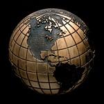 Globe Bronze Accent