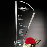 Merit Optical Crystal Award 10-1/4 in.