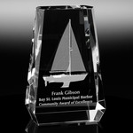 Aspen Optical Crystal Award 5-1/4in