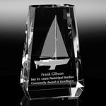 Aspen Optical Crystal Award 6-1/2in