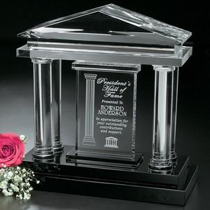 Parthenon Optical Crystal Award 10 in.