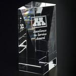 Buena Vista Optical Crystal Award 5 in.