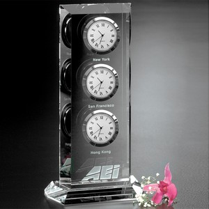 Trilogy Clock 9 in.
