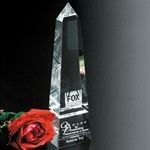 Pinnacle Peak Optical Crystal Award 10 in.