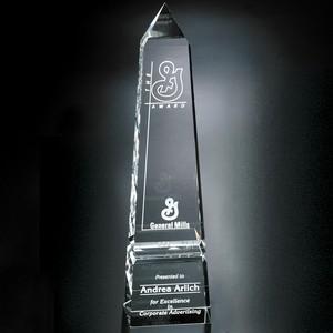 Pinnacle Peak Optical Crystal Award 14 in.