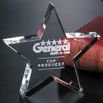Tapered Star Award 4 in.