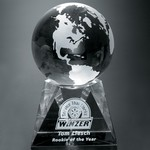 Triad Globe Award 4 in.