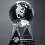 Triad Globe Award 6 in.