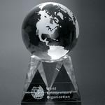 Triad Globe Award 6 in.