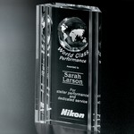 Capricorn Global Optical Crystal Award  8 in.