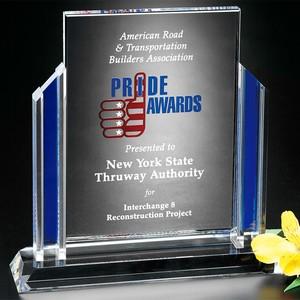 Heritage Optical Crystal Award 9-1/2 in.