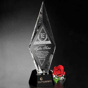 Chaska Optical Crystal Award 15 in.