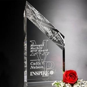 Stafford Peak Optical Crystal Award 11 in.