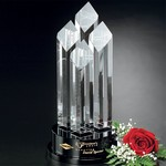 Diamond Tiara Optical Crystal Award 12-1/2 in.