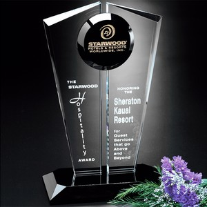 Obsession Optical Crystal Award  10 in.