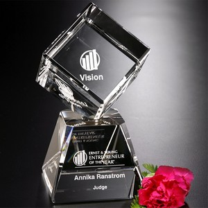 Awards In Motion Rotating Cube Arden 8-1/2 in.