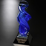 Blue Whirlwind Art Glass Award