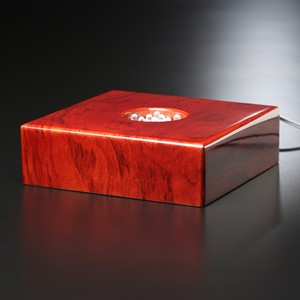 Premium Rosewood Lighted Base 6
