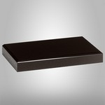 Black Glass Base 4 in. x 6 in.