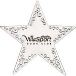 Silver Star Shape Ornament with Imprint