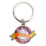 Full Color Custom Keytag Keychain (1-1/4 in.)