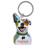 1 3/4 in. Full Color Custom Keytag Keychain