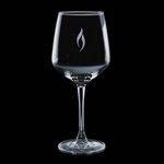Aerowood 16oz Wine Glasses Engraved Glass