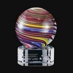 Lunar Award on Clear Base - 3.5 in. High