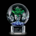 Aquarius Award on Clear Base - 6.25 in. Diam