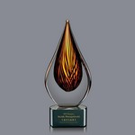 Barcelo Award on Black Base - 7 1/2 in  Small