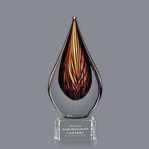Barcelo Award on Clear Base - 10 in  Medium