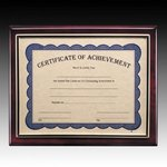 Oakleigh Certificate Holder - Rosewood 8.5 in.x11 in.