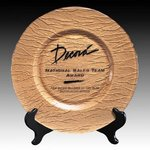Deerfield Award Plate - 13 in. Gold