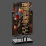 Oxford Art Glass - Rectangle 11 .5 High