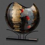 Oxford Art Glass - Curve Top 18 in. Wide