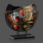 Oxford Art Glass - Wave Top 10 in. Wide