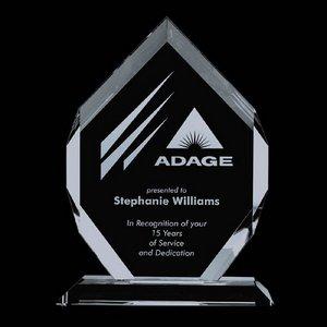 Royal Diamond - Jade Glass Award 10 in.