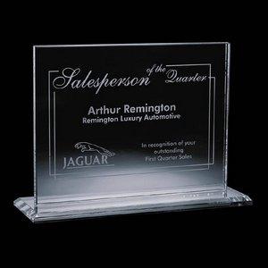 Emperor Award - Jade Glass 4 in.x 6 in. Horizontal