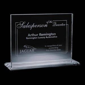 Emperor Award - Jade Glass  5 in.x 7 in. Horizontal