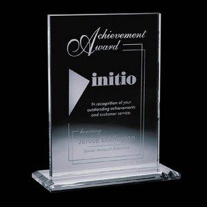 Emperor Award - Jade Glass  5 in.x 7 in. Vertical