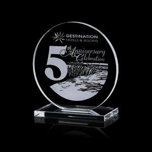 Victoria Award - Jade Glass Award 7 in