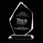 Mercer Award - Jade Glass 6in