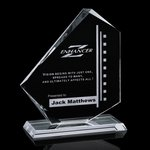 Eastgate Award - Jade Glass Award 7.5 in.