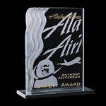 Wakefield Award - Jade/Marble 7 in.x9 in.