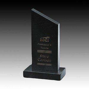 Newport Award Genuine Black Marble 7.5 in.