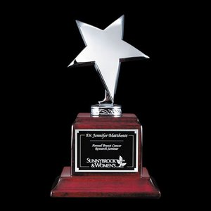 Densley Star Award - Rosewood/Chrome