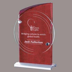 Gladstone Award - Jade/Rosewood 10 in.