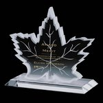 Maple Leaf Award - Starfire 10 in.